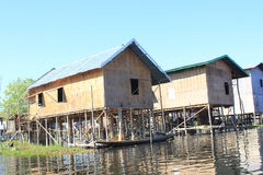 Vue de lac myanmar Inle Images stock