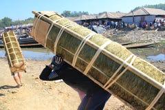 Vue de lac myanmar Inle Photographie stock libre de droits