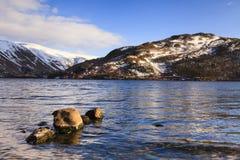 Vue de lac Ullswater Images libres de droits