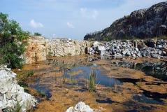 Vue de lacs Photo stock