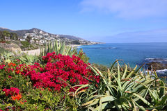 Vue de Laguna Beach Image libre de droits