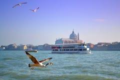 Vue de lagune de Venise, Italie Photographie stock