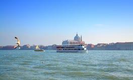 Vue de lagune de Venise, Italie Photos stock