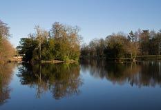 Vue de Lakeside Photographie stock