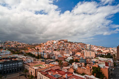 vue de Las Palmas de gran de capitol de canaria Images libres de droits