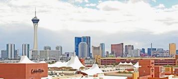 Vue de Las Vegas Image libre de droits