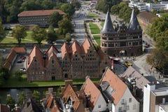 Vue de Lübeck Photographie stock libre de droits