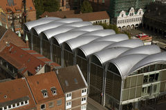 Vue de Lübeck Images libres de droits