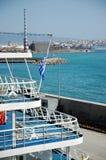Vue de Le Pirée Photos libres de droits