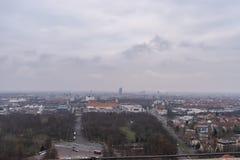 Vue de Leipzig image libre de droits