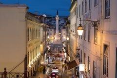 Vue de Lisbona image stock