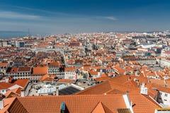 Vue de Lisbonne Photo libre de droits
