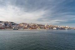 Vue de Lisbonne Images stock
