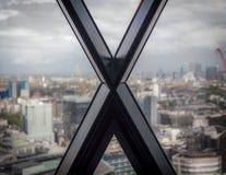 Vue de Londres avec une lettre X Photos libres de droits