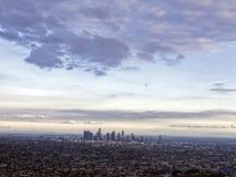 Vue de Los Angeles, la Californie, Etats-Unis Photo libre de droits