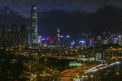 Vue de lumière de station de Lai King tirant 03 Images libres de droits
