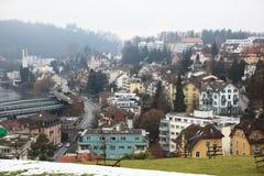 Vue de Luzerne Photographie stock