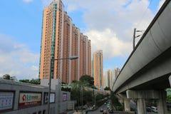Vue de mA sur le shan, Hong Kong photos libres de droits