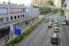 Vue de mA sur le shan, Hong Kong images stock