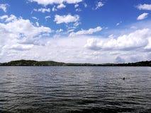 Vue de Macquarie de lac Photos libres de droits