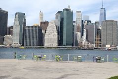 Vue de Manhattan Photo stock