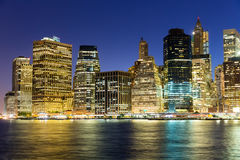 Vue de Manhattan Image stock