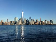 Vue de Manhattan d'endroit d'échange Image stock