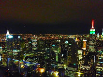 Vue de Manhattan de centre de Rockefeller Photo stock