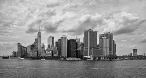 Vue de Manhattan, New York City Photographie stock libre de droits