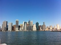 Vue de Manhattan, NYC Photo stock