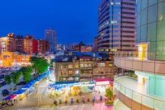 Vue de marché de l'électronique de Guanghua Photos libres de droits