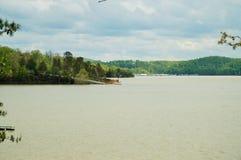 Vue de marina dans la distance Photo libre de droits