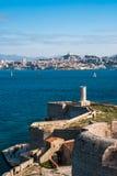 Vue de Marseille Photo libre de droits