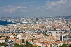 Vue de Marseille Image libre de droits