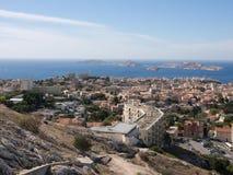 Vue de Marseille Images stock
