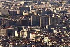 Vue de Marseille de côte image libre de droits