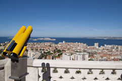Vue de Marseille France Images stock