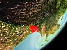Vue de matin du Bangladesh Photos libres de droits