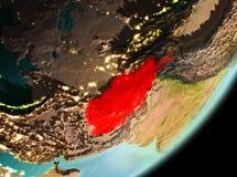 Vue de matin de l'Afghanistan Photographie stock libre de droits