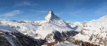 Vue de Matterhorn Photo stock