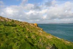 Vue de mer à St Ives Images libres de droits