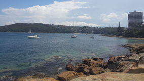 Vue de mer à viril, Nouvelle-Galles du Sud photographie stock