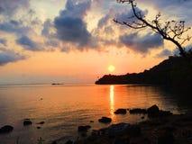 Vue de mer Photos libres de droits