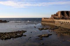 Vue de mer, Akko Photos stock