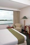 Vue de mer de chambre d'hôtel photographie stock libre de droits