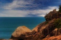 Vue de mer de Phangan?.3 Photos libres de droits