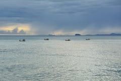 Vue de mer de Phuket, Thaïlande Photo libre de droits