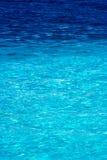 Vue de mer des Caraïbes dans le paradis Photographie stock libre de droits