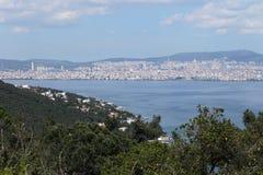 Vue de mer en été, Turquie Photo stock