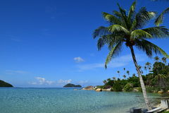 Vue de mer en Thaïlande Image stock